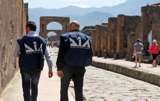 Polizia a Pompei