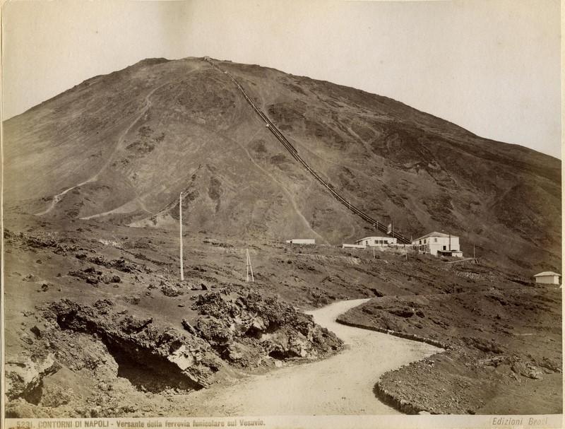 ferrovia funicolare sul Vesuvio