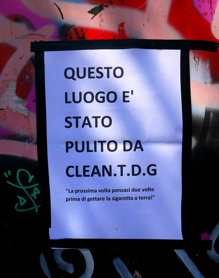Clean TDG - Piazza della Repubblica