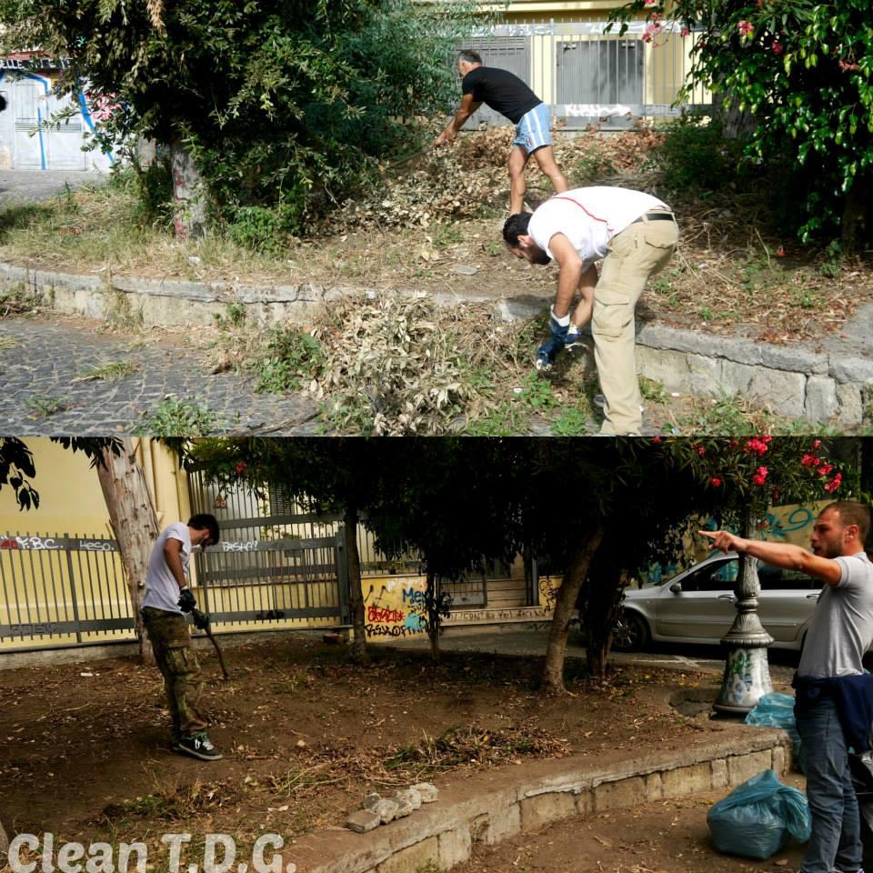 Clean TDG - Villa Comunale
