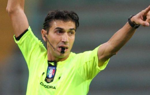 Calvarese protagonista di Fiorentina-Napoli