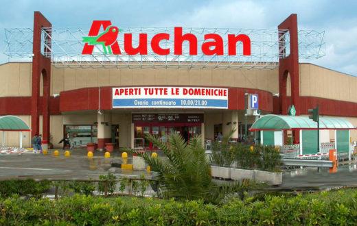 Pompei- una giovane coppia ruba 250 euro di merce dell'Auchan