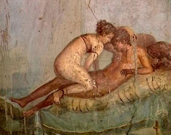 Gli affreschi erotici di Pompei