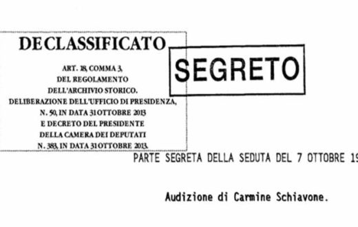 Audizione Carmine Schiavone