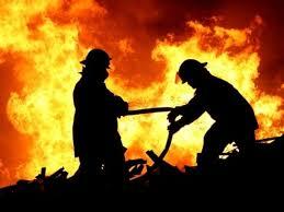 Incendio a Boscoreale, tempestivo l'intervento dei pompieri