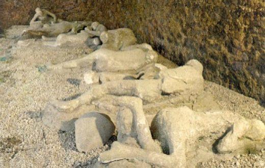 Sopralluogo di Magani a Pompei