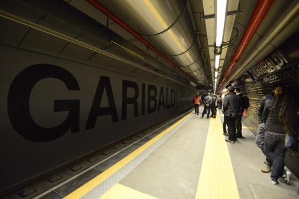 Maltempo - Stazione Garibaldi allagata