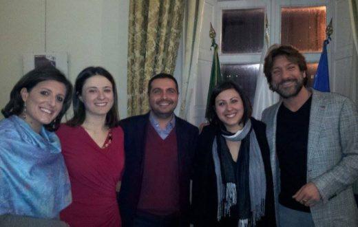 deArte, Esposito e Assisi a villa Macrina