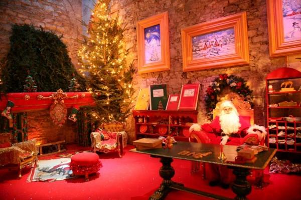 La casa di Babbo Natale a Ercolano