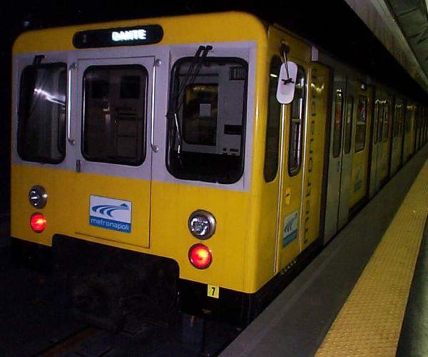 Lavori per la metrò di Capodichino
