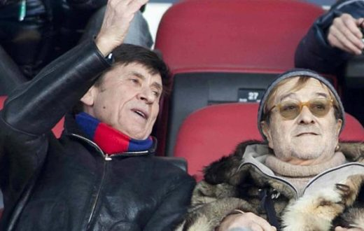 Gianni Morandi si vergogna de suoi tifosi