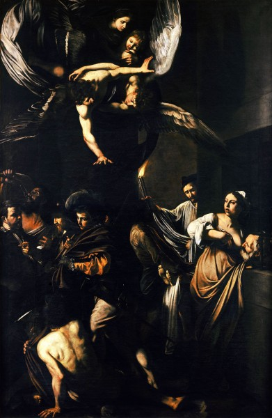 Sette opere di Misericordia, Caravaggio
