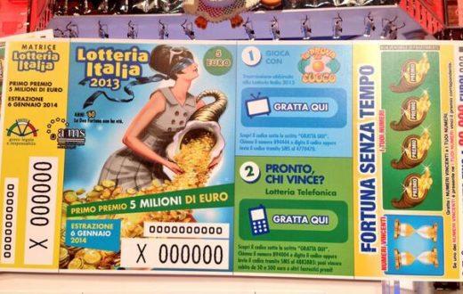 Il fortunato vincitore della Lotteria Italia è di Pompei