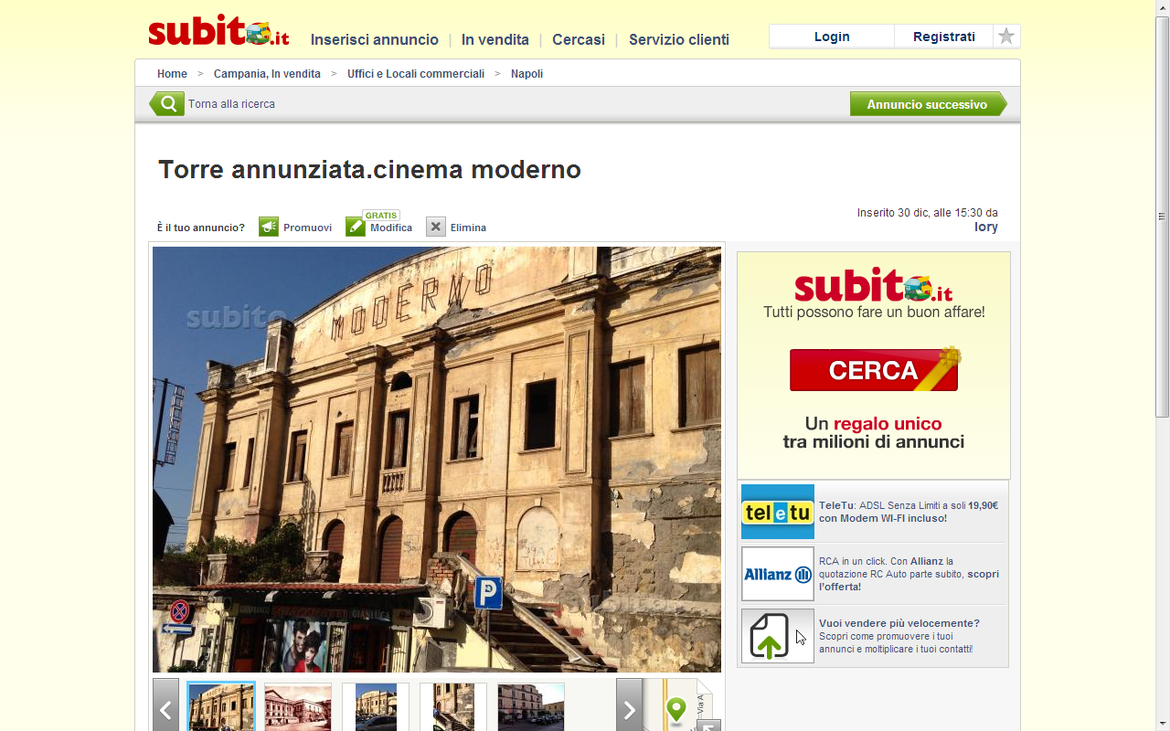 Teatro Moderno - Subito