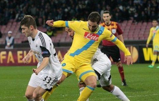 Napoli- Swansea 1-1
