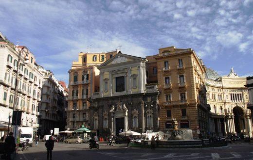 Chiesa di San Ferdinando e Fontana del Carciofo