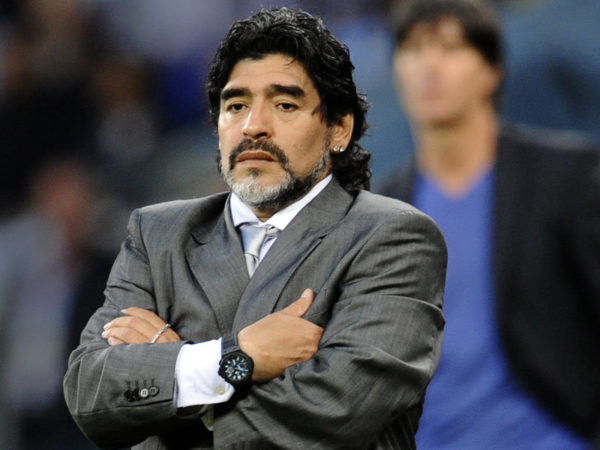 Un'inattesa sosta con Maradona