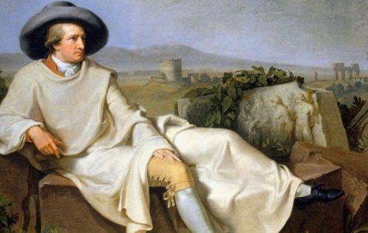 Ritratto di Goethe in Italia