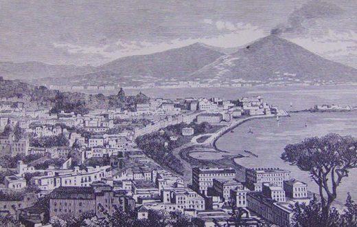 Napoli Retrò: lungomare di Napoli