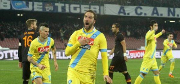 Napoli Roma Higuain