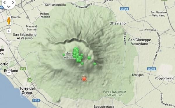 Terremoto sul Vesuvio