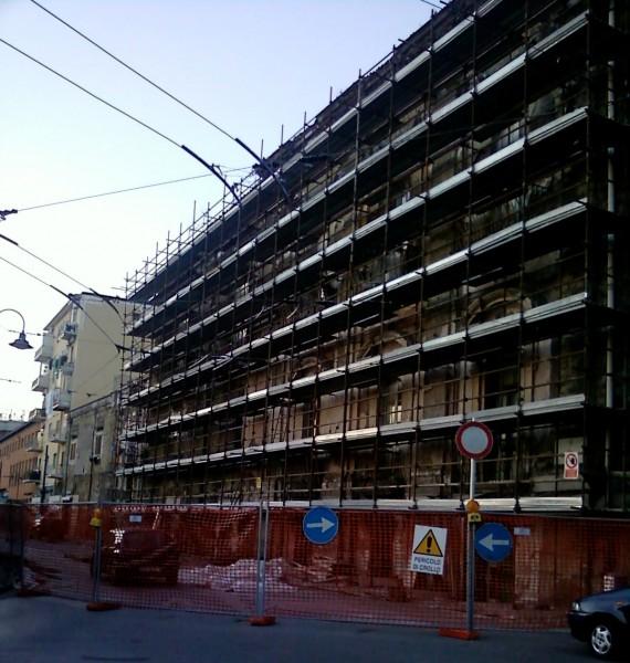 Villa Pignatelli di Montecalvo dopo la messa in sicurezza