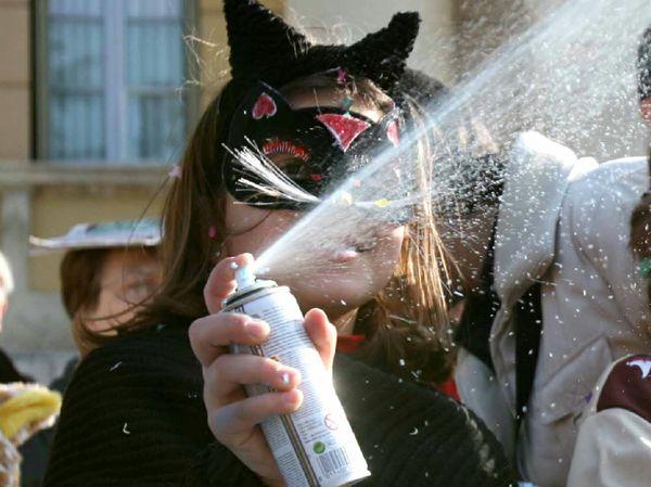 Carnevale bombolette spray