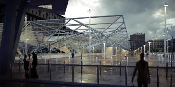 Piazza Garibaldi rendering