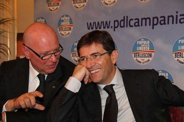 Nicola Cosentino e Amedeo Laboccetta