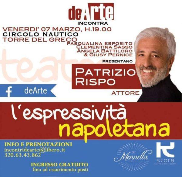 Patrizio Rispo con deArte