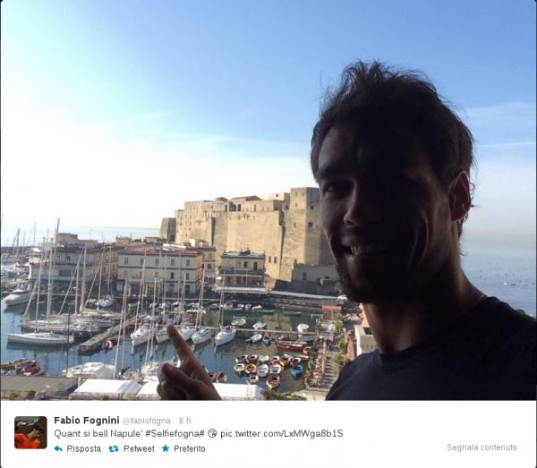 Fabio Fognini a Napoli