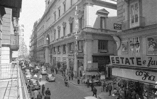 Via Roma anni '60
