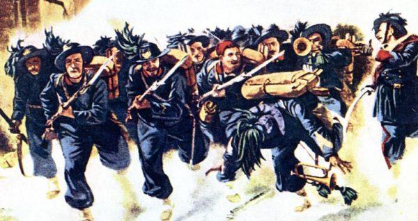 1° maggio 2021: corteo meridionalista in ricordo della Strage di Pietrarsa