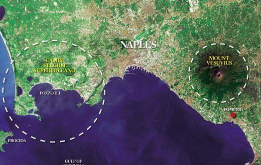 Campi Flegrei e Vesuvio