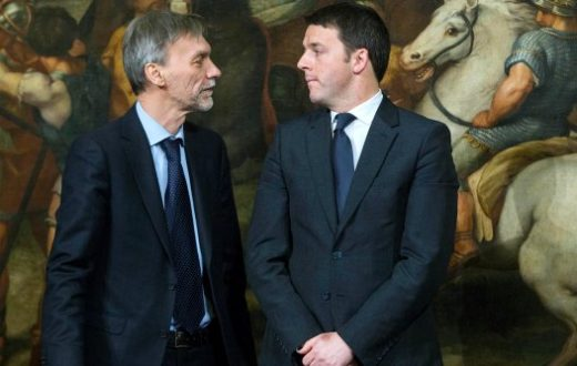 Delrio e Renzi
