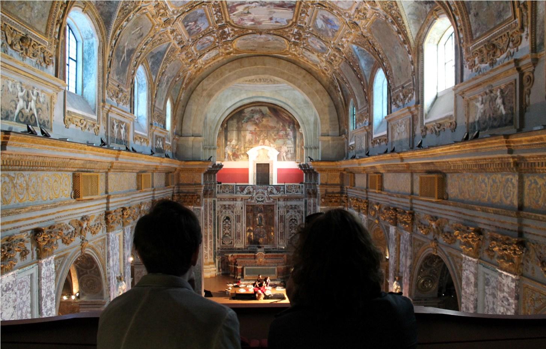 Museo Diocesano Napoli.La Suggestione Dei Quadri Viventi Di Caravaggio Al Museo Diocesano