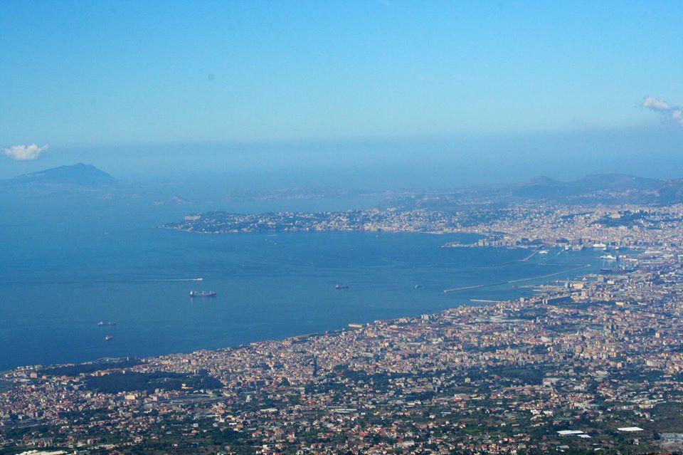 Panoramica Golfo di Napoli