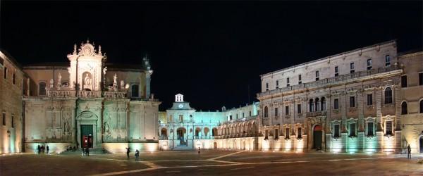 Piazza del Duomo a Lecce