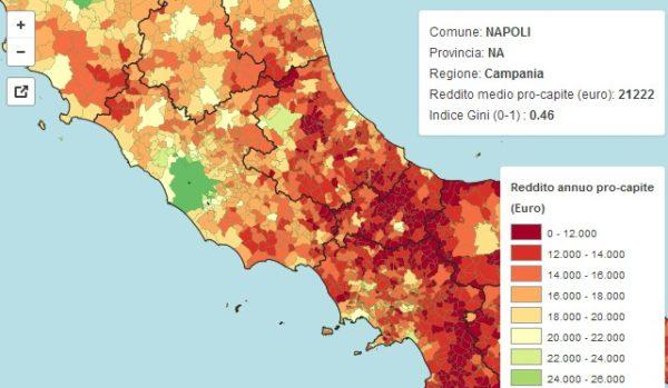 Mappa del reddito