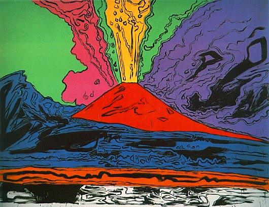 Vesuvius di Andy Warhol