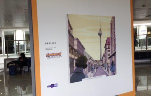 Carnet de voyage, la mostra di fumetti allestita all'aeroporto di Capodichino