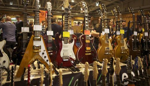 La Mostra d'Oltremare ospiterà il Second hand guitar e il Ritmi show