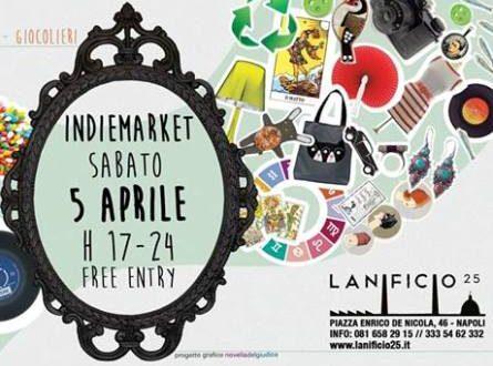 IindieMarket, il mercatino un pò indie un pò gipsy di Lanificio25