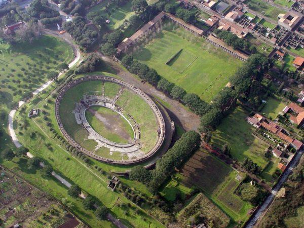 """""""L'occhio dallo spazio"""" su Pompei forse si aprirà a settembre"""