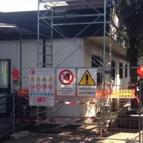 Nuovo crollo a Pompei, questa a venir giù è un pannello negli uffici della soprintendenza