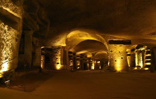 Livello superiore della Catacomba (foto di E. Procaccianti)