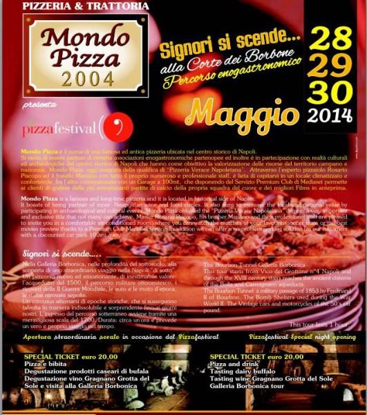 Locandina Mondo Pizza