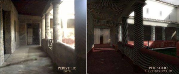 Peristilio Villa Poppea Oplontis