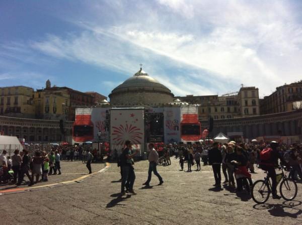 Piazza del Plebiscito, Nutella Bday