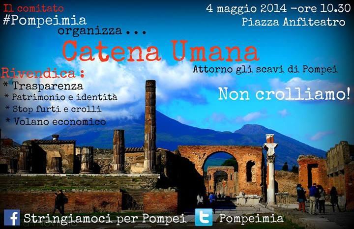 Stringiamoci per Pompei - Catena Umana